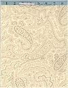 Paisley On Cream, 108 Inches Wide,  Marcus Brothers
