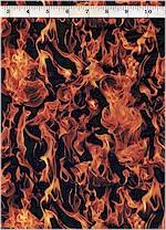 Lifelike Flames, Fire! Timeless Treasures