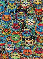 Pop Cats, Sugar Skulls, Timeless treasures