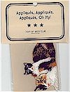 Calico Cat & Kitten Applique