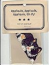 Black & White Cat Applique