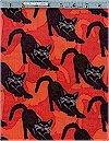 Gothic Cats Benartex Fabrics