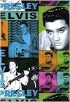 Elvis  Pictures, Bright Colors, COTTON