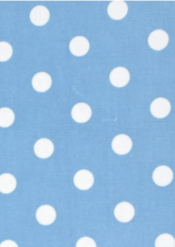 Dumb Dot Blue/White Flannel, Michael Miller