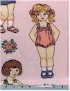Little Girls Fleece, Retro, Baum Textiles