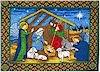 Nativity Fleece Panel 48 X 60 Sold By The Panelvip Cranston