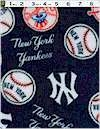 New York Yankees Fleece Fabric Traditions