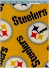 Pittsburgh Steelers FLEECE, Yellow