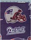 New England Patriots FLEECE, Fabric Trad.