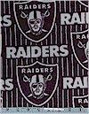 Oakland Raiders FLEECE, Fabric Traditions