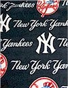 Yankees Baseball Fleece Fabric Traditions