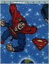 Superman Fleece  Franco Fabrics