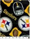 Pittsburgh Steelers Fleece Black