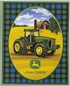 John Deere FLEECE 48 x 60 Inch PANEL