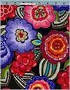 Fiesta! Flowers Multi Benartex
