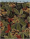 Autumn Harvest Leaves, Gold Accented, Cranston VIP