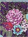 Garden Bouquet on Purple, Michael Miller