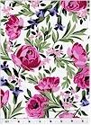 Bed Of Roses,  Natural/ Rose Michael Miller