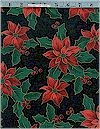 Poinsettia Holly, Gold Accented, VIP Cranston