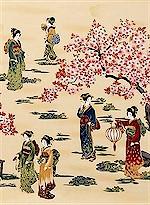 Oriental Geishas Gold Accented, Robert Kaufman