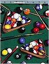 Billiards Green Timeless Treasures