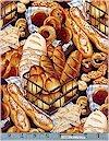 Boulangerie, Mixed Breads, Alexander Henry, Reg 11.25