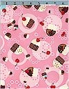 Cupcake Toss Pink Robert Kaufman Back In Stock