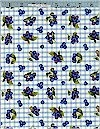 Blueberries, Gingham, Robert Kaufman