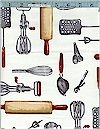 Kiss the Cook!  Utensils, Robert Kaufman