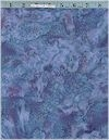 Handpainted Batik, Wisteria, Hoffman International