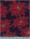 Poinsettias, Gold Accented, Hoffman International