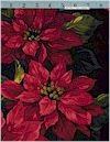 Scarlet Poinsettia Michael Miller