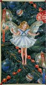 The Christmas Tree Fairy Panel, Michael Miller