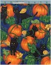 Cats 'n Pumpkins Black, 60 Wide