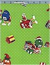 M&M Christmas Characters Cotton, Back in Stock
