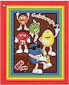 M&M Characters, Wall Hanging, COTTON