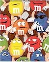 M&M Characters Packed Cotton Now In Stock
