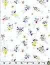 Bright Pastels Fairies, White, Michael Miller