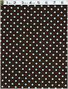 Dumb Dot Chocolate/Light Blue Dots, Michael Miller