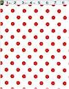 Thats It Dot! Cherry, Michael Miller, BACK IN STOCK