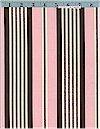 Banded Ticking Stripe, Pink, Kids Toile Coll, Michael Miller