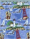 Coastal, Lighthouses, Sail Boats, Buoys,Michael Miller