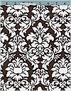 Dandy Damask, Cocoa/White, Michael Miller