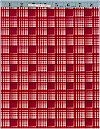 Pepper Plaid Red Michael Miller