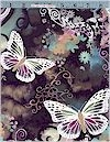 Filigree Flutter Butterflies, Michael Miller, BACK IN STOCK