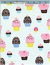 Cupcake Party, Aqua, Michael Miller