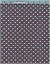 Dumb Dot, Gray/Blue Dots, Michael Miller
