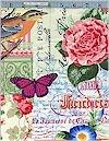 Menagerie Collage Multi, Michael Miller