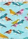 Birdies, Blue, Michael Miller