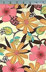 Floral Charm Natural, Michael Miller